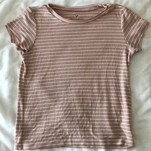 American Eagle Soft & Sexy ribbed t-shirt